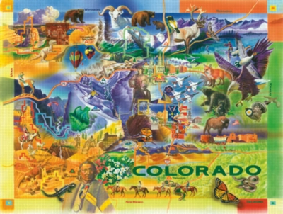 Colorado - 500pc Jigsaw Puzzle by Sunsout