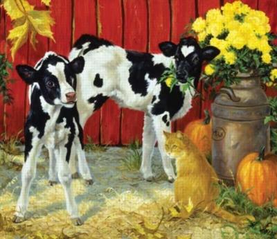 Spilt Milk - 550pc Jigsaw Puzzle by Sunsout