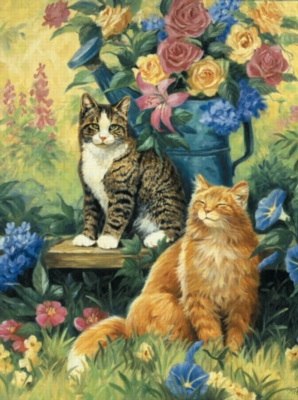 Tom & Jerry - 1000pc Jigsaw Puzzle by Sunsout