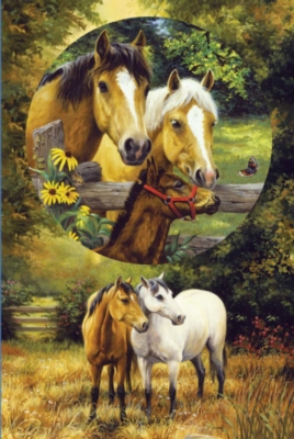 Jigsaw Puzzles - Country Horses