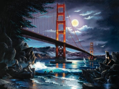Guardians of the Gate - 500pc Jigsaw Puzzle by Sunsout