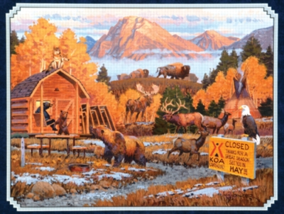 Closed for the Season - 500pc Jigsaw Puzzle by Sunsout