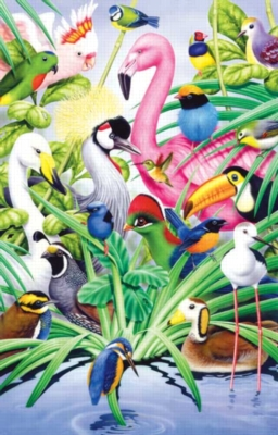 Bird Magic - 1000pc Sunsout Jigsaw Puzzle