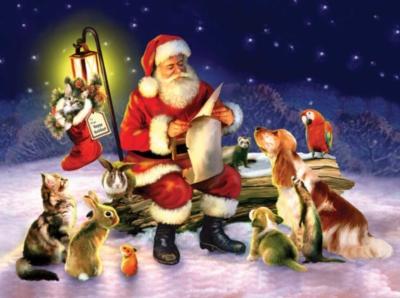 Santa's List - 1000pc Sunsout Jigsaw Puzzle