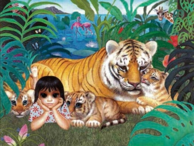 What Shall I Do Today? - 300pc Large Format Jigsaw Puzzle by Sunsout