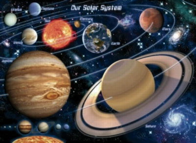 Solar System - 1500pc Jigsaw Puzzle by Sunsout