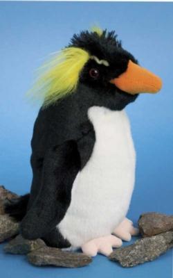Elvis Rockhopper - 9'' Penguin By Douglas Cuddle Toys