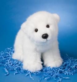 Marshmallow - 15'' Polar Bear By Douglas Cuddle Toys