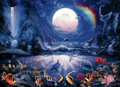 Moonlight Splash - 1500pc Jigsaw Puzzle by Sunsout