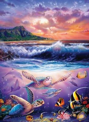 Turtle Friends - 1500pc Sunsout Jigsaw Puzzle