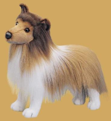 Dixie Sheltie - 18'' Dog By Douglas Cuddle Toys
