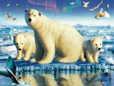 Ice Brigade - 300pc Large Format Jigsaw Puzzle by Sunsout