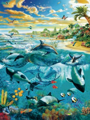 Beachside - 500pc Jigsaw Puzzle by Sunsout