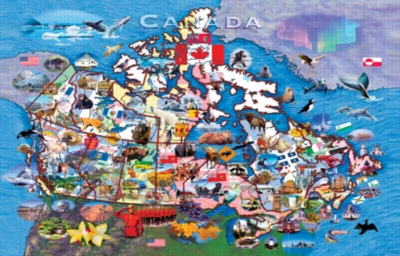 Canadian Odyssey - 1000pc Jigsaw Puzzle by Sunsout