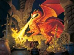Jigsaw Puzzles - Smaug Dragon