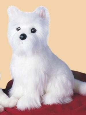 Gigi Westi - 13'' Dog By Douglas Cuddle Toys