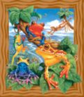 Frogs - 200pc Jigsaw Puzzle by Sunsout