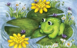 Jigsaw Puzzles for Kids - Mr. Frog