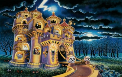 Haunted Castle - 100pc Jigsaw Puzzle by Sunsout