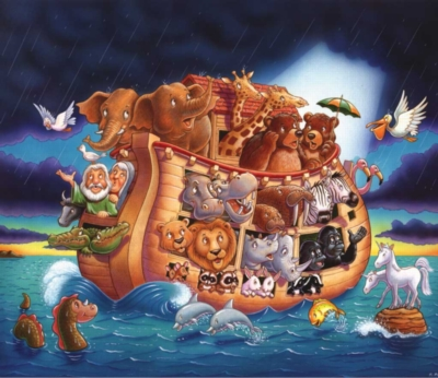 The Ark Map - 200pc Jigsaw Puzzle by Sunsout