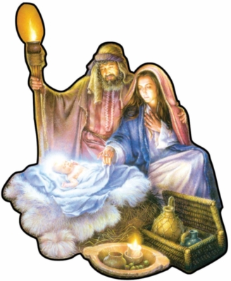 Shaped Jigsaw Puzzles - The Nativity