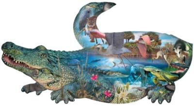 Shaped Jigsaw Puzzles - Prehistoric