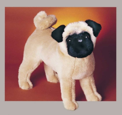 Rocky Pug - 14'' Dog By Douglas Cuddle Toys