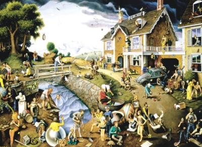 Proverbidioms - 1500pc Jigsaw Puzzle by Sunsout