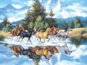 Horse Puzzles - The Last of the Wild Ones