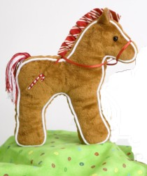 Gingerbread - 8'' Horse By Douglas Cuddle Toys
