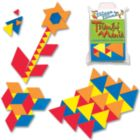 Triangle Mania - 72pc Magnetic Tessellation