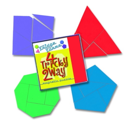Tessellation Puzzles - 4 Tricky 2 Way