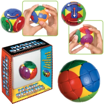 Magic Sphere - Sequential Puzzle