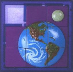 3D Slide Puzzle: Earth - Sequential Puzzle
