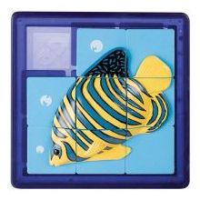 3D Slide Puzzle: Tropical Fish - Sequential Puzzle