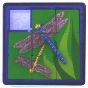 3D Slide Puzzle: Dragonfly - Sequential Puzzle