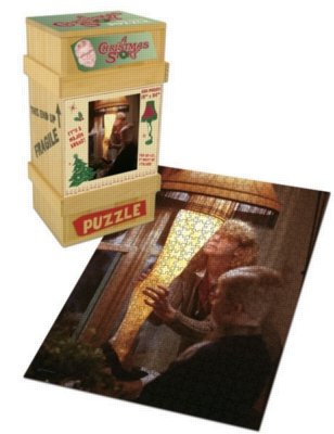 A Christmas Story - 550pc Jigsaw Puzzle by USAopoly