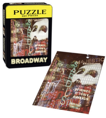 Broadway - 550pc Jigsaw Puzzle by USAopoly