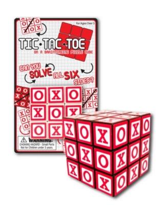 Tic Tac Toe Cube - Puzzle Cube
