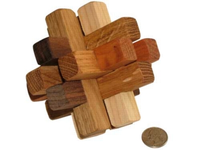Interlocking Wooden Puzzle - 12 Piece Puzzle