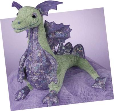 Snort Sparkle - 9'' Dragon By Douglas Cuddle Toys