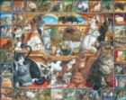 World of Cats - 1000pc Jigsaw Puzzle By White Mountain