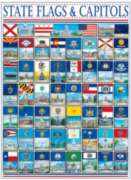 Jigsaw Puzzles - State Flags & Capitols