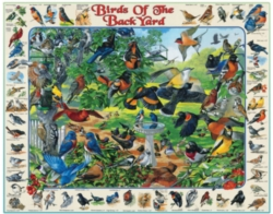 Jigsaw Puzzles - Birds of the Backyard