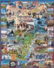 American Revolution - 1000pc Educational Jigsaw Puzzle By White Mountain