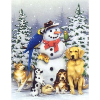 Winter Friends - 550pc Jigsaw Puzzle By White Mountain