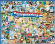 Jigsaw Puzzles - United States of America