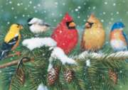 Jigsaw Puzzles - Cardinals & Friends