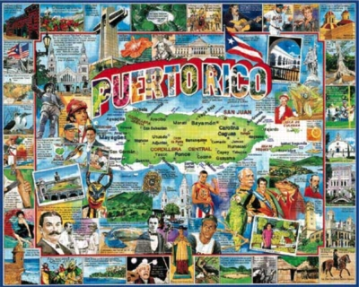 Puerto Rico - 1000pc Jigsaw Puzzle By White Mountain