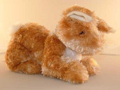 Ralphie Bunny Honey Cream - 9'' Rabbit By Douglas Cuddle Toys
